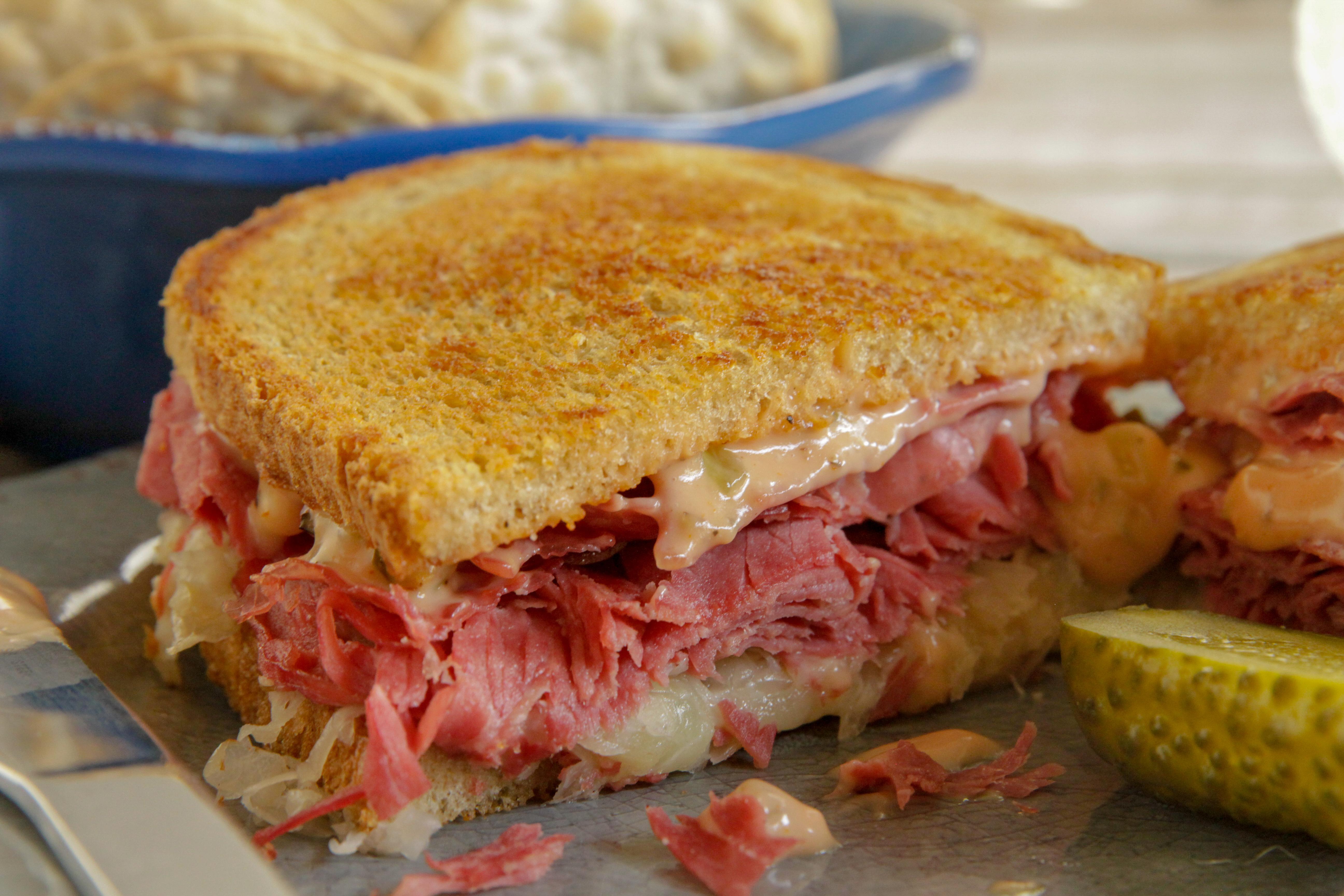 Reuben Sandwiches Recipe Blue Plate Mayonnaise